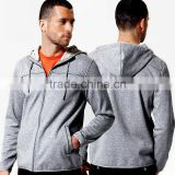Heavyweight Full Zip plain Hooded Sweatshirt