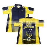Custom sublimated dry fit men darts polo shirts