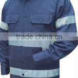 Cotton Factory Soft Safety Work Clothes For Coal Mining Industry