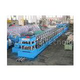 Three Wave Guardrail Forming Machine PLC Roll Forming Line With Single Unrolling Machine