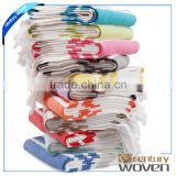 Hotel selling Pestemal turkish cotton bath beach towel