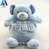 pudgy adorable plush dancing bear toy for promotion