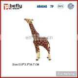 Vivid plastic giraffe model new toys for kid 2017