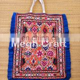 Hand Embroidery Bead And Mirror Theli /TOTE bag -Vintage handmade Rabari embroidered Thela-handbag-Handmade Gypsy Banjara Bag