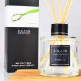 Zolang 150ml non-fire aromatherapy essential oil set rattan purification freshener aromatherapy bottle toilet room deodorant perfume