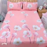 Wholesale 100% Polyester flower print bedsheet fabric/Printed fabric for making bed sheet