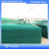 Alibaba China Supplies Plastic Coated Wire Fence Protect Retaining Wall Railway Protective Fencing