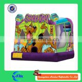 Hot inflatable scooby doo bounce house jumping bouncers of sale                                                                         Quality Choice