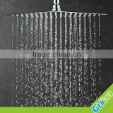 "Bath 8"" 10'' 12'' Rainfall Round Stainless Steel Wall mount Shower Head Chrome Polish"