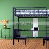 Bunk Bed with desk and seat