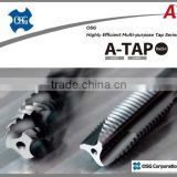 Highly efficient and high grade OSG threading taps and square hole drill bit