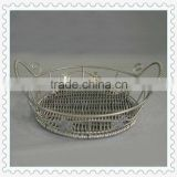 wholesale round shape wire gift baskets