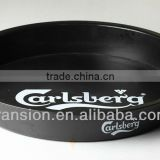 ABS beer trays plastic round serving trays
