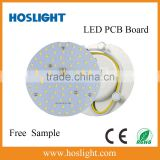 Magnet installation round AC SMD smd led module ceiling light led pcb 2835 module and free sample can be available