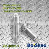 BS-B020-1,M14x1.5x77mm Knurled Wheel Stud Bolt