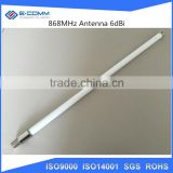 868MHz Fixed Fiberglass Base Station Antenna / Diamond Outdoor Base Station High Performance Antenna 6 dBi