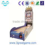 Hot coin operated arcade bowling amusement games