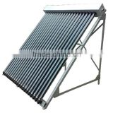 20 vacuum tube PRESSURED heat pipe solar collector
