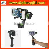 High Quality easy handle smart phones go pro gimbal stabilizer handheld brushless gimbal