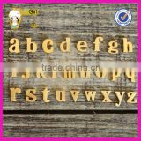 "Custom alphabet silver pendant lowercase plating rose gold,platinum,gold ""a"" pendant diy words implied meaning"