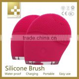 super silicone face brush, facial exfoliating brush for face care, brush electrical facial massage