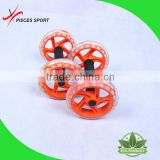 wholesale gym fit double ab wheel double ab roller