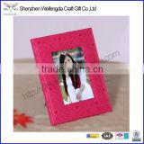 New Arrival Exquisite PU Leather Bulk Digital Photo Frame