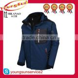 Outdoor winter mens crane snow ski wear