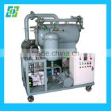 High Performance Vacuum Lube Oil Filtering Machine, auto oil recycling machine, hydraulic oil disposal machine