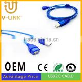 Manufactory price data line usb to usb line 2.0 for computer mobile phone accesories