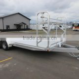 Folding Semi Utility Trailer Towing Dolly Trailer By kinlife with 34 years experience in metal fabrication
