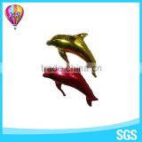 2016 new design of fish shape animal helium foil balloon with customer logo for party decoration and kids' toy