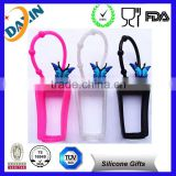 BBW silicone hand sanitizer holder&30ml new productive animal silicone hand sanitizer holder
