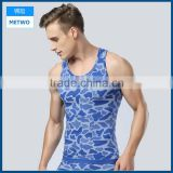 Whoelsale Cheap High Quality Slimming Body Men Gym Tank Tops