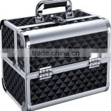 aluminum frame cosmetic case beauty case with combination lock (D2629)