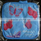 printed cotton pot holder butterfly printing oven mit for promotion and kitchen
