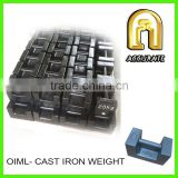 M1 class 20kg standard weights for calibration, 20kg test weights, 20kg cast iron weights