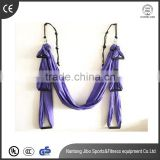 OEM High-Strength Soft 250*150cm Flying yoga swing aerial yoga hammock