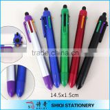 new plastic 6 color multi-color jumbo pen with touch top                                                                         Quality Choice