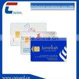 PVC bank debit card contact ic cards for access control