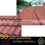 factory selling best quality 1350mm*420mm decorative metal roof tiles / building materials for house stone coated roof tile