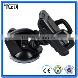 360 degree rotating mobile phone car windshield holder, new multi-function cell phone car windshield holder