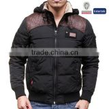 High Quality Fashionable 60% Cotton 40% Nylon Bulk Plain Windproof Softshell Winter Mens Down Jacket