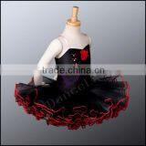 CP040 Black swan lake girls professional ballet tutu dress classical clothing for dance performance for girls tutu dress