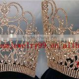 fashion tall pageant crown wholesale