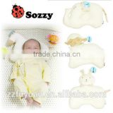 organic cotton sozzy brand lovely new born baby sleep positioner pillow