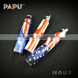 World Cup Brazil 2014 electronic cigarette wholesale P series battery with Flag of different country from Paipu