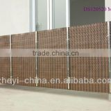 Balcony protection cover mat -synthetic rattan material shanghai china