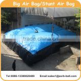 High Safety inflatable stunt big air bag for snowboard, skiing and BMX                                                                         Quality Choice