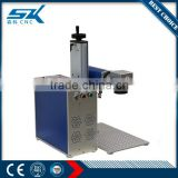 20w laser marking machine for metal nonmetal wood stainless steel 304 steel watch back logo marking
